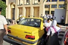 سرویس مدرسه،دو سانحه در هفته اول