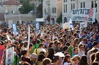 احتمال انحلال کابینه ائتلافی نتانیاهو: اختلاف در کابینه رژیم صهیونیستی شدت گرفت؛ افزایش اعتراض ها به لایحه سرزمین یهود