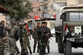 پاسخ سخت ارتش سوریه به حمله گروههای تروریستی در حومه قنیطره