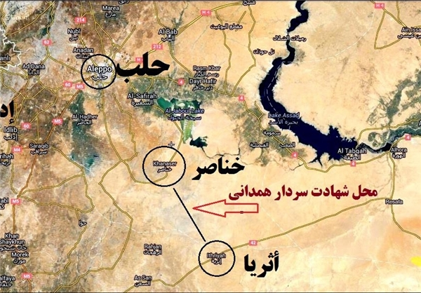 محل دقیق شهادت سردار همدانی معروف به ابو وهب +عکس
