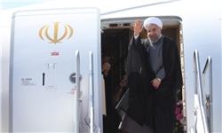 استقبال نمادین از رئیسجمهور در قالب کاروان «شوق حضور» در ساری