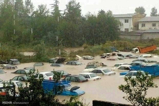 احتمال وقوع سیل در مازندران