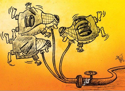 کاریکاتور/ اجلاس تهران با عربهای نفتی خلیج فارس چه کرد؟!