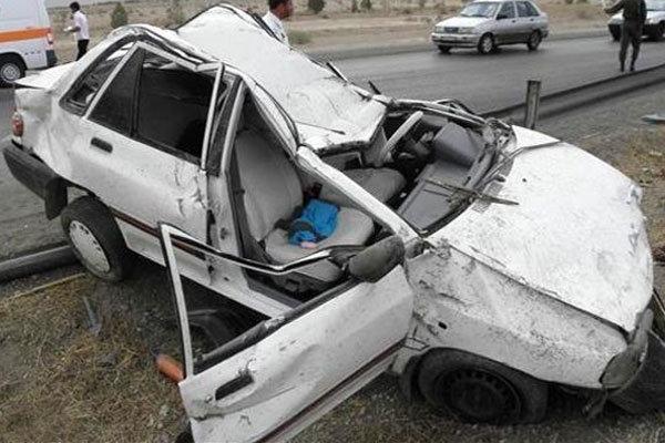 ۴ کشته در پی تصادف مرگ بار دو پراید در شیراز
