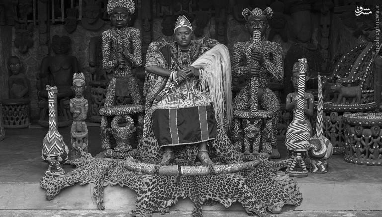 پادشاهی با بیش از ۱۰۰ همسر/عکس