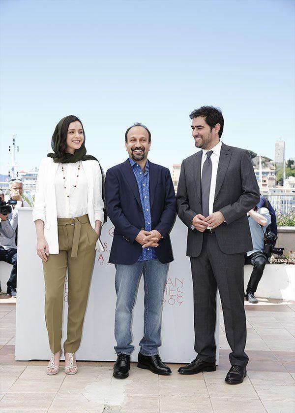 تیپ ترانه علیدوستی و شهاب حسینی در جشنواره کن فرانسه (عکس)