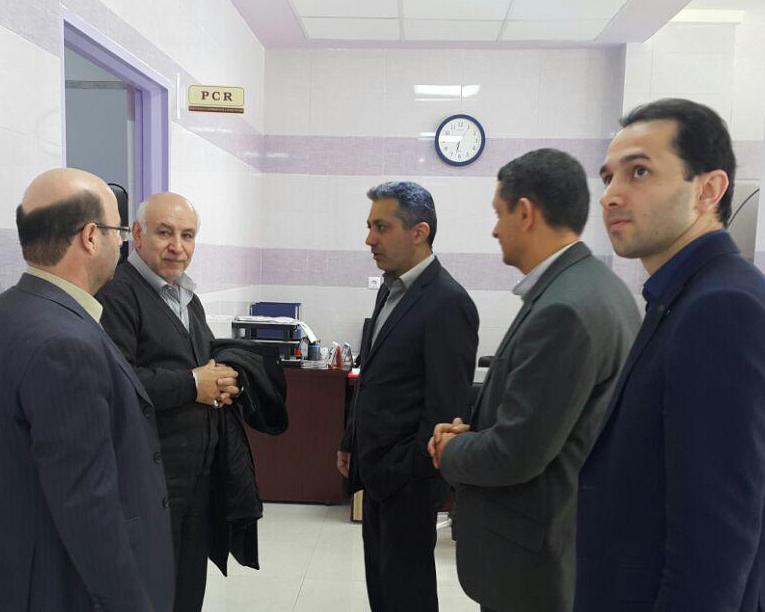 بازدید رئیس مرکز تحقیقات سرطان دانشگاه علوم پزشکی شهید بهشتی از مرکز جامع سرطان ساری