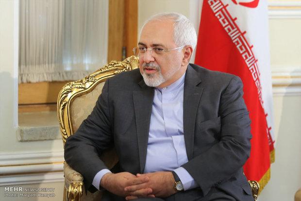 تشکر «ظریف» از حضور باشکوه ایرانیان در انتخابات ریاستجمهوری