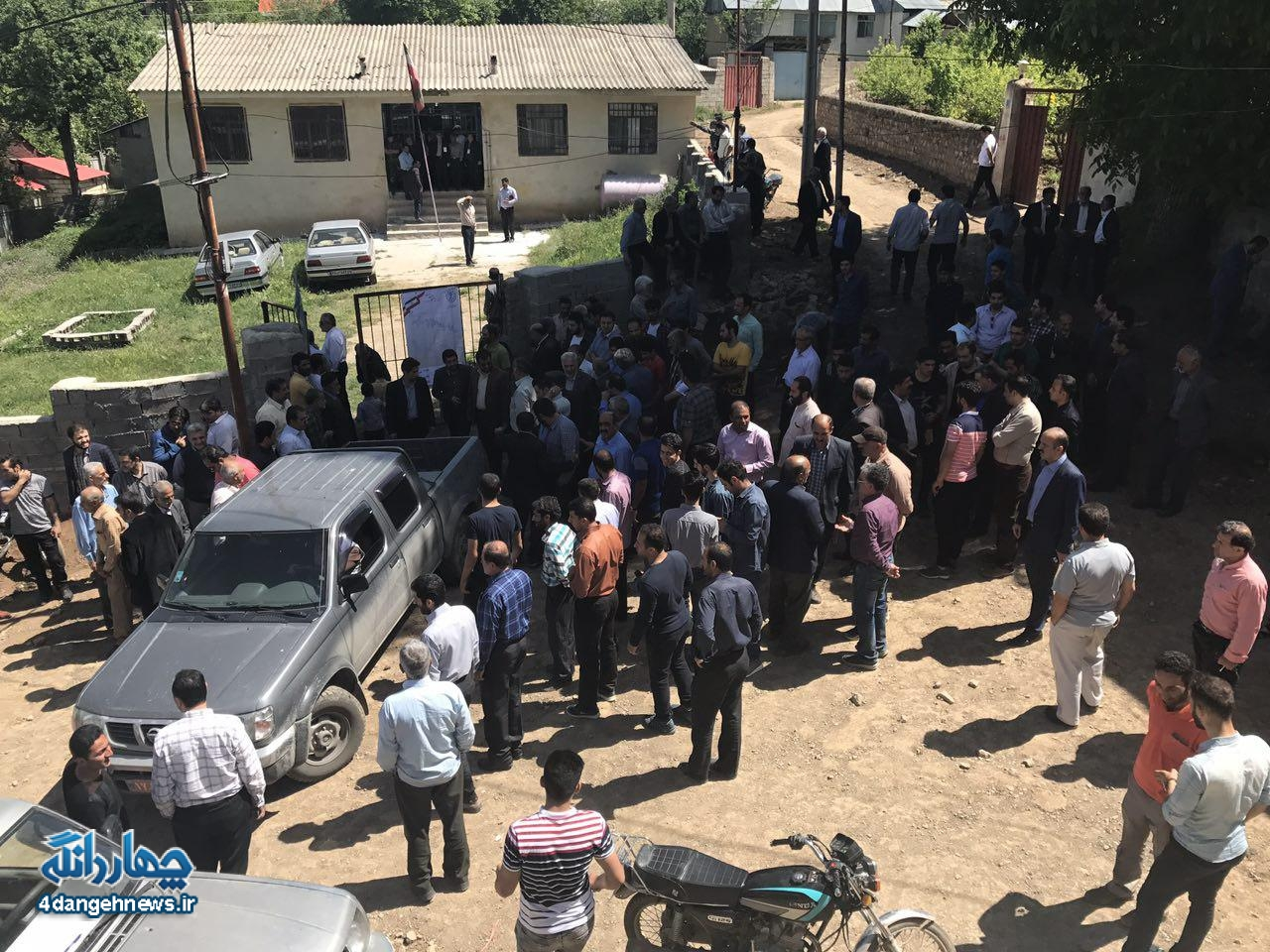 مشارکت بیش از ۱۵۰ در صدی مردم در انتخابات ریاست جمهوری بخش چهاردانگه