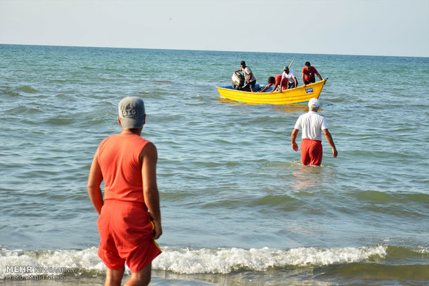 ۳۶۵ نقطه حادثه خیز در سواحل مازندران شناسایی شده است