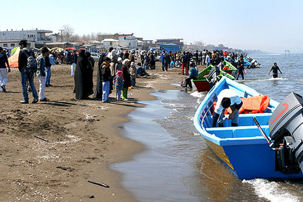 ۱۱ کیلومتر نوار ساحلی چالوس آزادسازی شد