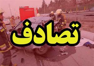۷ زخمی در تصادف جاده کیاسر