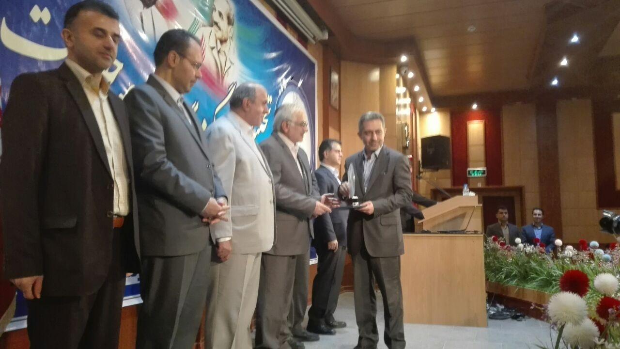 تجلیل از دانشگاه علوم پزشکی مازندران در جشنواره شهید رجایی