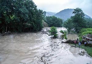 احتمال وقوع سیلهای ناگهانی از عصر پنج شنبه ۱۲ مرداد در مازندران