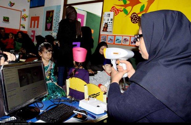 ۲۰۰۰ کودک مبتلا به اختلالات بینایی در مازندران شناسایی شدند